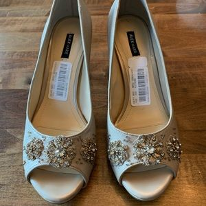 Alex Marie open toed heels - NEW size 8